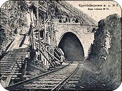 Строительство Кругобайкальской железной дороги